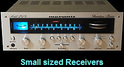 Small sized Receivers
