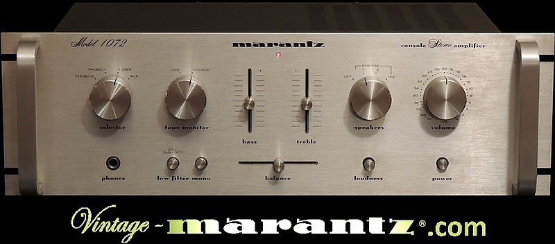 Marantz 1072 Rack Version  -  vintage-marantz.com